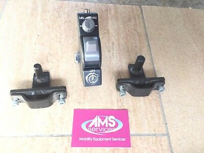 TGA Hand Control Unit & Fitting Brackets for Wheelchair Powerdrive Unit - Parts