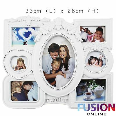 multi photo frame white hanging pictures frames wedding gift home decoration DIY