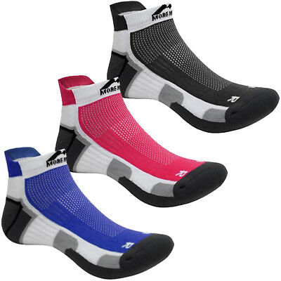 Mens, Womens More Mile Miami Cushioned Sports Running Trainers Socks Size