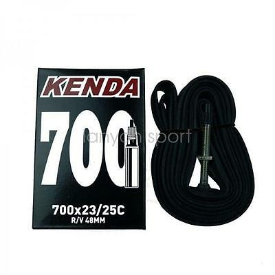KENDA Road Bike Tube 700x23c to 25c Presta Vlave Bicycle Inner Tube 700c