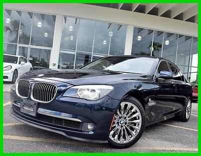 2011 BMW 7-Series  2011 Used Turbo 4.4L V8 32V Automatic RWD Sedan Moonroof Premium