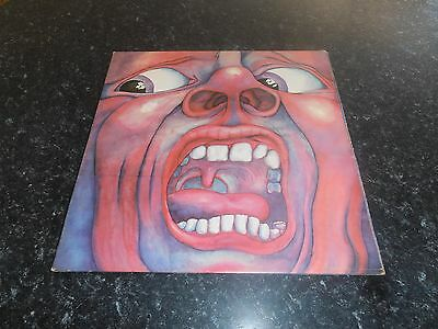 King Crimson - In The Court Of The Crimson King Lp Vinyl Uk Island A2/b4 Ex+