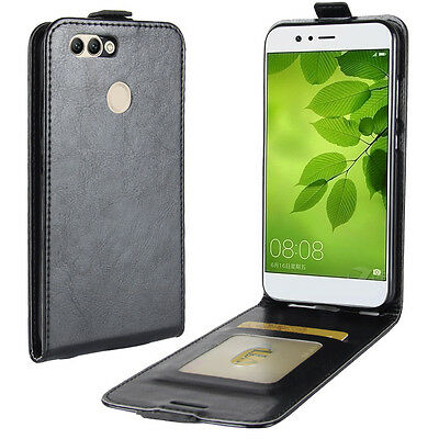 For Huawei P9 lite mini Vertical Up&Down Flip Leather Case Card wallet Cover