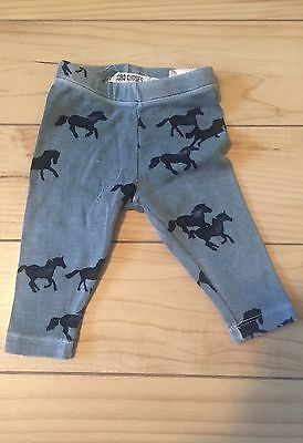 Bobo Choses 3-6 months Horse Pants like Mini Rodini and Nununu
