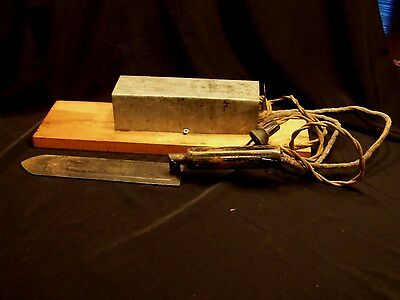 Vintage Bee Keeper's  electric honeycomb cutter