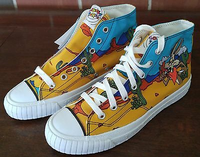 Keds Canvas Looney Tunes Vintage High Top Canvas SneakersSize 6