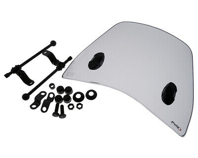 Windschild PUIG Trafic smoke für Kymco People GT 125i 10-14
