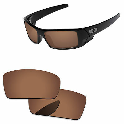PapaViva Polarized Replacement Lenses For-Oakley Gascan -Copper Brown
