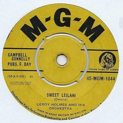 "Leroy Holmes - Sweet Leilani - 7"" Single"