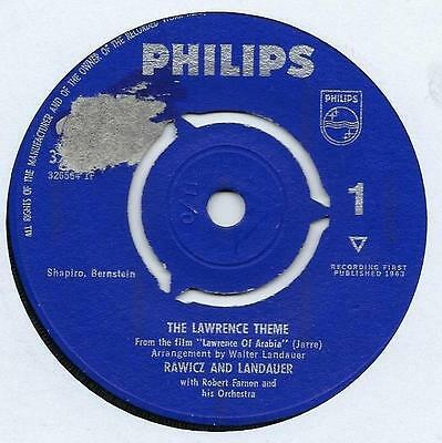"Rawicz & Landauer - The Lawrence Theme - 7"" Single"
