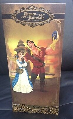 Disney Beauty And The Beast Belle & Gaston Fairytale LE Doll