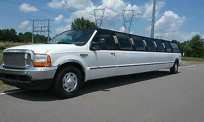 "2001 Ford Excursion  FORD EXCURSION LIMO LIMOUSINE PARTY BUS 200"" 22 PASSENGER ULTRA READY TO MAKE $$"
