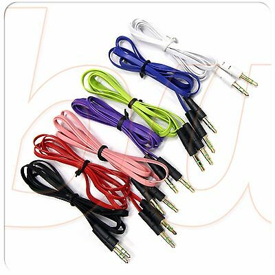 Cable plano audio TRS jack 3,5mm VARIOS COLORES