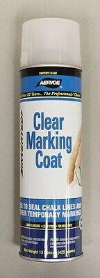 Aervoe 15oz 200 Clear Marking Coat *Inverted* Seal Chalk Lines *Lead FREE*