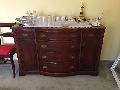 Beautiful Antique Mahogany Sideboard / Buffet
