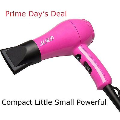MHD Hair Dryer 2 Heat Cool Button Powerful Light