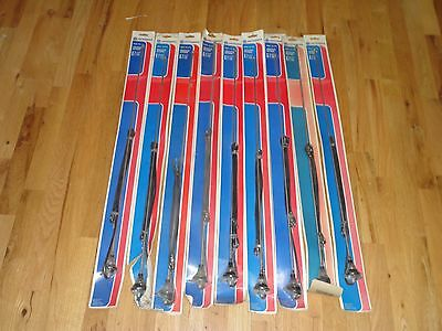 "Wholesale Lot of (9) New NOS Vintage AM/FM Radio Antenna 730-1276 31"" Mast 54"""