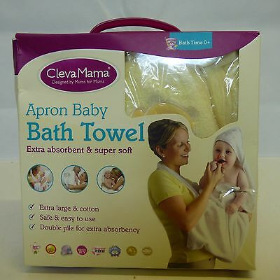 Baby Towel Wrap Baby Bath Towel (Cream) Brand NEW