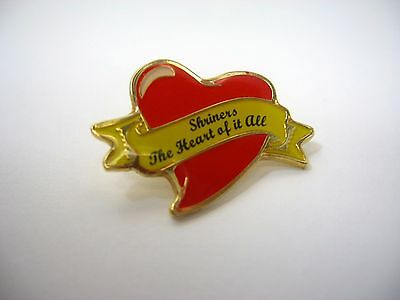 Collectible Pin: Shriners The Heart of it All