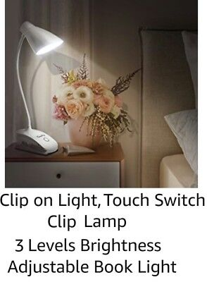 Clip on Light - Touch Switch 3 Levels Brightness - Clip Lamp