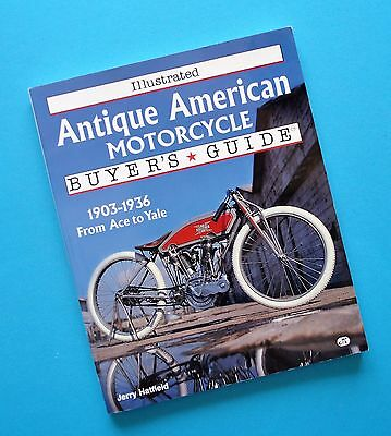 Harley JD FL Indian Scout Chief Henderson Motorcycle Manual Book Jerry Hatfield