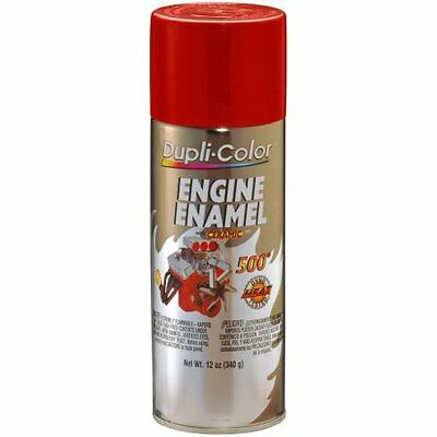 Duplicolor CDE1605 Engine Enamel Paint, Rouge Ford Red, 12 Oz Can Ceramic 500° F