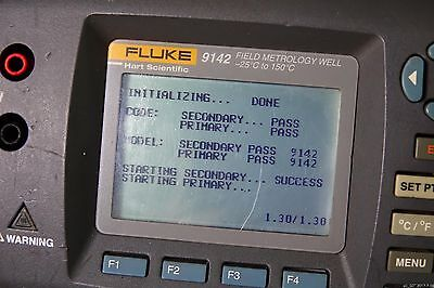 Fluke 9142 Field Metrology Well -25°C to 150°C Dry Block Temperature Calibrator