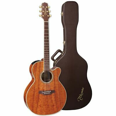 New Takamine EF508KC NEX Hawaiian Koa Acoustic Electric Guitar w/ Hardshell Case