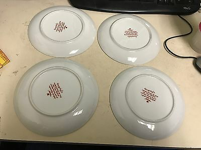 Peony Authentic Reproduction Of Japanese Porcelain Bread & Butter Plates (7)