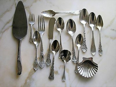 Big Lot of Sterling Silver Flatware - Gorham, Wallace, Whiting and More!
