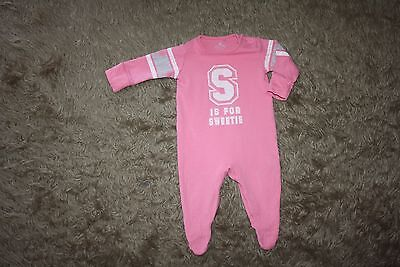 NEXT Baby Girl's Sleepsuit - Up To 3 Months