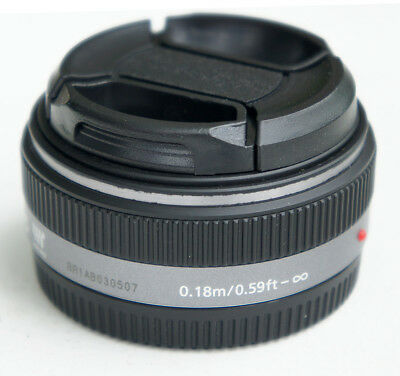 Panasonic LUMIX G 1:2.5 14mm F2.5 F/2.5 ASPH. AF LENS H-H014 MICRO Made in Japan