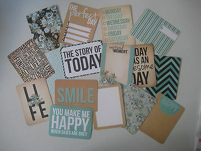 "'snapshot' Project Life Cards By Kaisercraft - 3"" X4"" - 16 Cards"