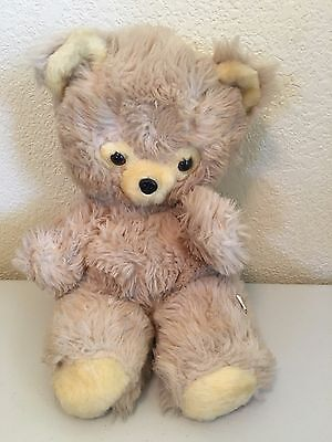 Vintage Stuffed Plush Teddy Bear Toy By Well Made Brand
