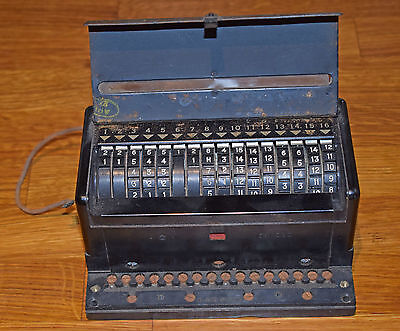 Ww2 Raf Bomber Aircraft Sequencing Unit 5D-1063 - Used On Lancaster And Others