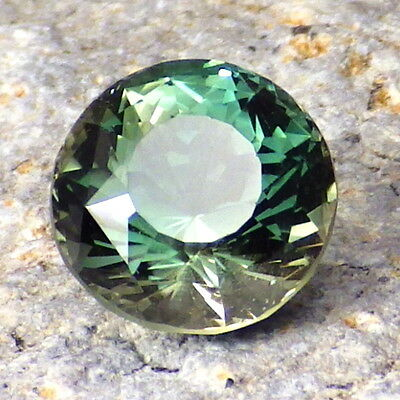 PEACOCK-SEAFOAM GREEN-BLUE OREGON SUNSTONE 2.46Ct FLAWLESS-FOR HIGH-END JEWELRY!