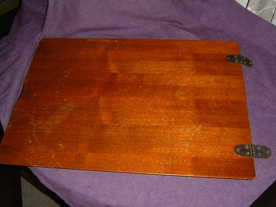 Treadle Singer Sewing Machine Cabinet Top With Screws Good Condition