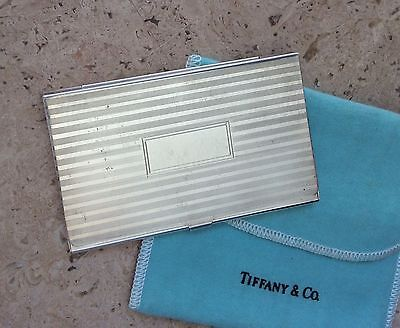 Vintage Tiffany & Co Silver Business Card Case!