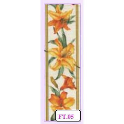 Sospeso Fabric Tape Yellow Lily