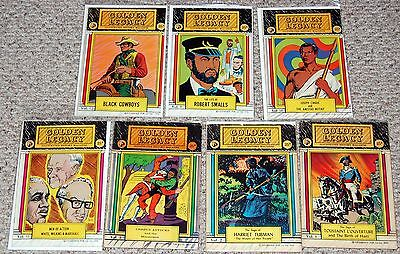GOLDEN LEGACY Black History Figures Events 1960's 1970's Silver Age 7 Comic Lot