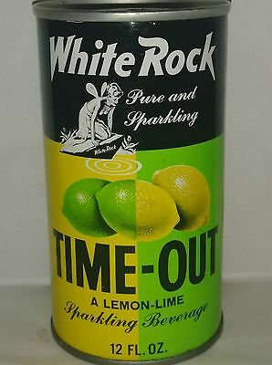 White Rock Time-Out Pull Tab Soda Can - Brooklyn, N.y.!!!