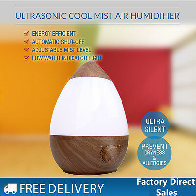 Essential Oil Ultrasonic Aroma Diffuser Air Mist Humidifier Purifier Atomizer US