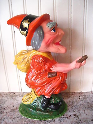 ION SCHALLER WITCH CANDY CONTAINER 2001 LTD ED 110600 C.RADKO Germany REDUCED