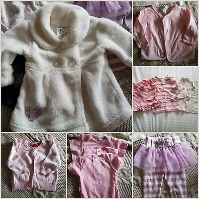 10 x mixed baby girl items size 3-6 months  (00) -EUC
