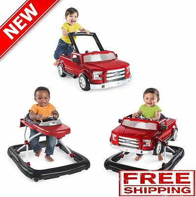 Baby Kids Toddler Boys Toy Ford F150 Outdoor Indoor Game Play Walker Red NEW