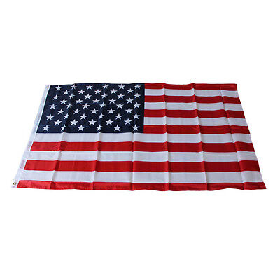 American Flag 3'x5' FT USA US U.S. Stripes Printed Stars Brass Grommets