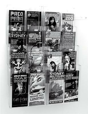 Taymar A4 & DL,Wall System Kit Acrylic Perspex -WS8-46-D8- Wall Brochure Holder