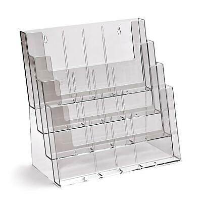 Taymar DL, 12 Pocket (Tiered) Brochure Holder - 4C330-D8