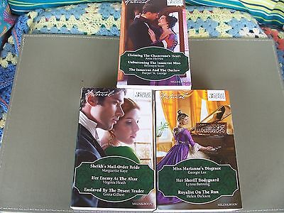 Mills And Boon Books...historical  3-In-1 Novels, New/as New!