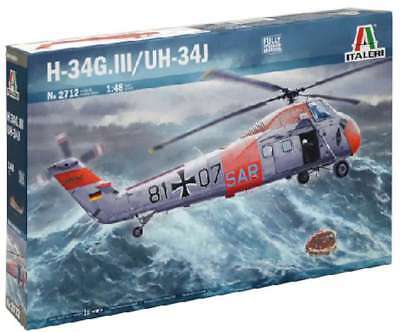Italeri 2712 H-34G.III/UH-34J 1/48 New Helicopter Plastic Model K 8001283027120